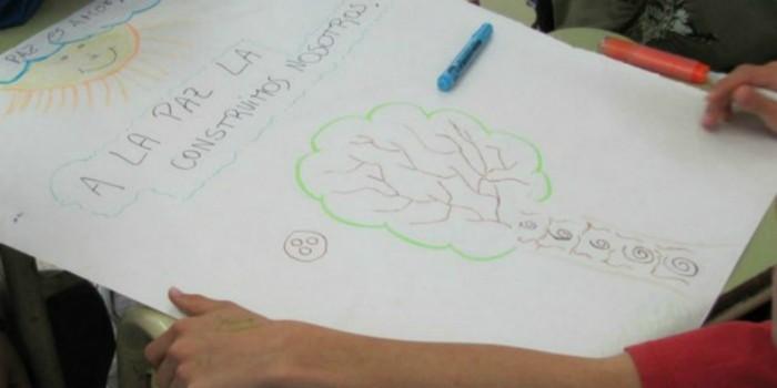 actividad de la red con estudiantes de 7º grado