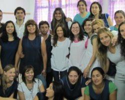 La salud de los docentes. Actividad de la Red en Colastiné Sur.