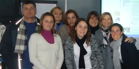 reunión coordinadores de aulas en Paraná