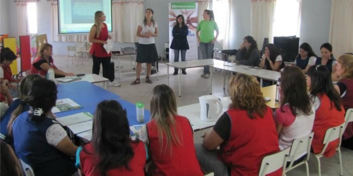 La Red de escuelas en el Jardín Juana Manso