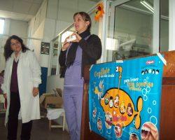 Taller de salud bucal en Bica Infancia