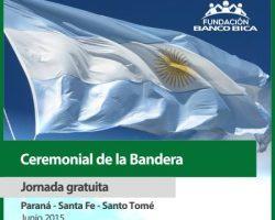 """Cambiamos la fecha de la jornada gratuita """"Ceremonial de la bandera"""""""