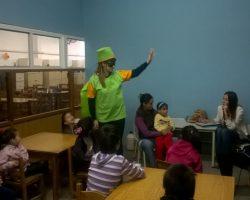 Obra de teatro sobre separación de residuos en Bica Infancia