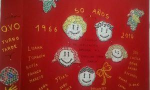 """Inauguraron el mural en la escuela """"Tobar García"""""""