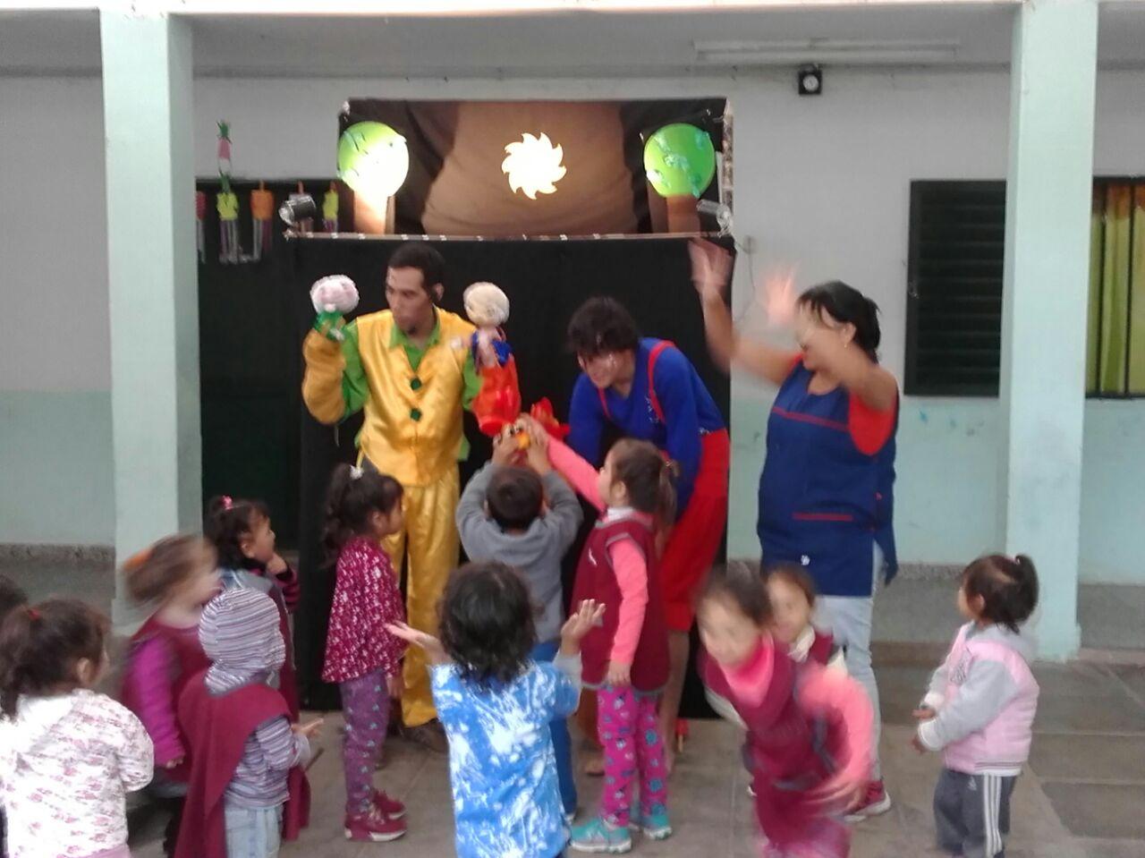 Espectáculo de títeres en Paraná
