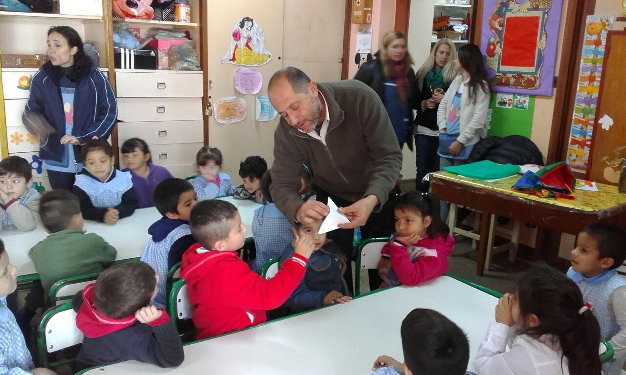 Actividades en escuelas de Paraná
