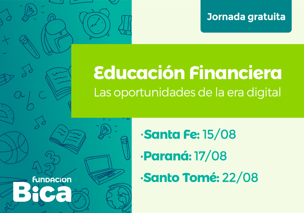 "Jornada gratuita:  ""Educación Financiera: las oportunidades de la era digital"""
