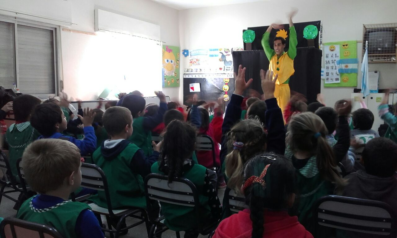 Talleres en las escuelas de Paraná