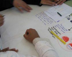 La integración en el aula. Actividad de la Red junto a alumnos de 7mo. grado