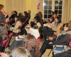 Se realizó el curso Educar en Derechos Humanos con Alicia Cabezudo