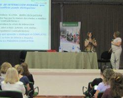 Se realizó la jornada Conflictos interpersonales en Paraná