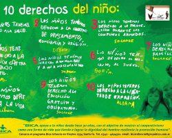 Celebramos el Día del Niño difundiendo sus Derechos