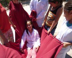 Juegos Cooperativos en escuelas de Sto Tomé y Sta. Fe