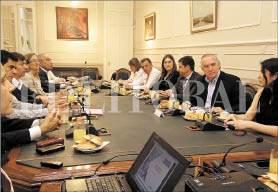 Reunión para adherir al Pacto Global