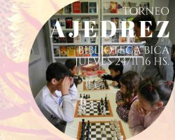 Torneo de Ajedrez en la Biblioteca